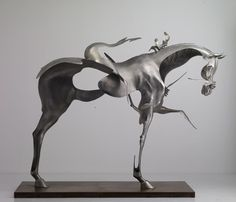 Beijing based artists Liu Zhan, Kuang Jun and Tan Tianwei who go by the name Unmask present a series of impressively elegant metal figurative sculptures that appear to be dissolving in air. Liu Zhan, Kuang Jun and Tan Tianwei met one another at the Central Academy of Fine Arts and has been doing sculptural work together since 2001. Their latest work is these stunning figurative sculptures made of stainless steel that appear to be in a state of dissolution. The abstract aesthetics of these…