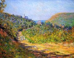 Claude Monet - At les Petit-Dalles (1884)