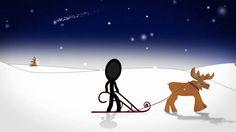 Mit einem innovativen Weihnachts- und Neujahrsgruß bleibt man in Erinnerung. Lassen Sie sich emotionalisieren. Die passende Musik begleitet das Strichmännchen im Weihnachtsvideo…eine Videoproduktion von pregondo