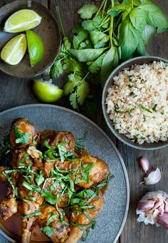 Pollo al curry thai en Instant Pot Pollo Thai, Pasta Al Curry, Oriental, Paella, I Foods, Potato Salad, Instant Pot, Crockpot, Slow Cooker