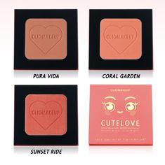 Blush CuteLove di ClioMakeUp: 3 nuove colorazioni per la primavera-estate 2021 | IL MONDO DI ROSIE Coral Garden, Primavera Estate, 3, Blog, Pura Vida, Blogging
