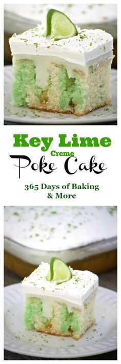 Key Lime Creme Poke Cake is THE perfect desert to top off your Cinco de Mayo par. Key Lime Creme Poke Cake is THE perfect desert to top off your Cinco de Mayo party. It& SO easy to put together and is full of flavor. Poke Cakes, Poke Cake Recipes, Cupcake Recipes, Baking Recipes, Dessert Recipes, Freezer Recipes, Freezer Cooking, Drink Recipes, Cooking Tips