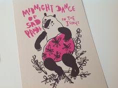 Dancing Animals by Natalya Balnova, via Behance