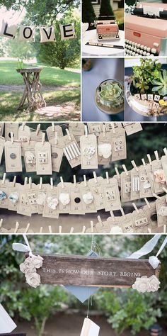 Cute ways to incorporate Scrabble pieces.... I like the tags.  Cute for scrapbooking or lil cards.