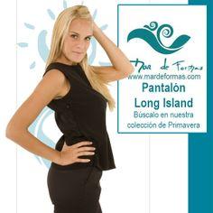 El Pantalón Long Island Búscalo en nuestra colección de Primavera http://www.mardeformas.com/ca/55-pantal%C3%B3n-long-island.html