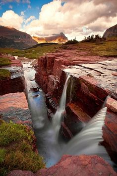 Glacier National Park by minerva