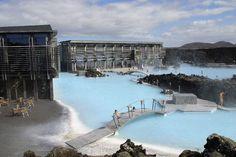 Blue Lagoon, Iceland - Travel Guide ~ Tourist Destinations