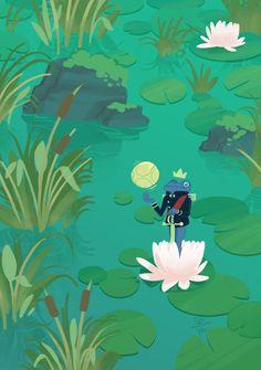 Sunita B: The Frog Prince steals the princess' ball