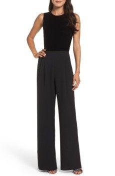 Sale Alert! Everything you need to know – Nordstrom Anniversary Sale 2017 – Stilettos & Statutes - Black Velvet Jumpsuit - so pretty