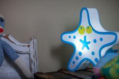 Starfish Design Nursery Lamp & Kid's Room Light - Get it at Beachfront Decor