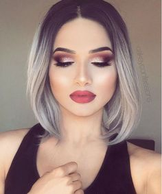 Sophisticated Silver Blonde Bob Hairstyles to Look Extremely Cute This Year