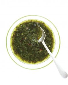 Green Sauces for Grilling