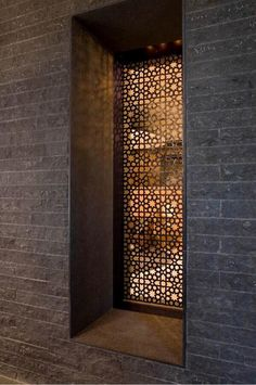 Fancy Privacy Screen Ideas for Your Home Interior Design - Decorate Your Home Islamic Architecture, Architecture Details, Home Interior, Interior And Exterior, Indian Interior Design, Laser Cut Screens, Laser Cut Panels, Decorative Screens, Perforated Metal