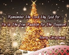 Remember why we celebrate Christmas!!