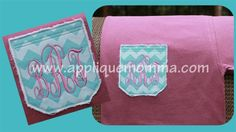 All Designs Page 6 Applique Patterns, Applique Designs, Embroidery Designs, Embroidery Files, Embroidery Applique, Machine Embroidery, Applique Momma, Monogram Pocket Tees, Drink Sleeves