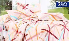 Get 85% #discount on Shannon 3-Piece Bedsheet #onlinedeals