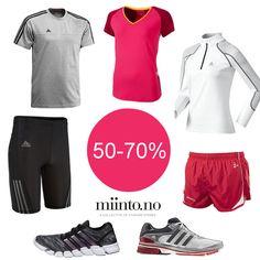 Tilbake til treningen etter sommerferien? Familiebutikken har 50-70% på hele utvalget: http://www.miinto.no/shops/b-418-familiebutikken