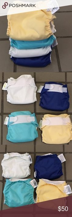 Bumgenius Littles NB XS AlO newborn diaper is ultra gentle and designed for babies less than 12 pounds. The simple, all-in-one system fits below the navel to keep the umbilical area dry.    Stay-dry lining is super soft and wicks moisture away from delicate skin Proprietary elastic designed specifically for cloth diapers Super-absorbent microfiber core Waterproof outer cover prevents leaks Accessible, replaceable, gentle elastic Quick, convenient, hook & loop closure Fits low, below navel to…