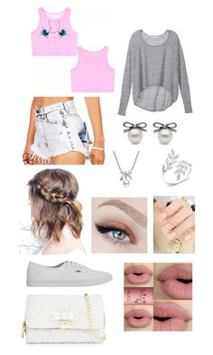 """""""tuh"""" by pontesthuany on Polyvore featuring moda, Victoria's Secret, Vans, MBLife.com, Sephora Collection e Betsey Johnson"""