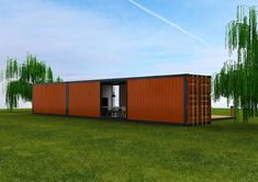 We are one the leading container design and container production company in Europe. Container Design, Our World, Garage Doors, Shed, Outdoor Structures, Outdoor Decor, House, Home Decor, Homemade Home Decor