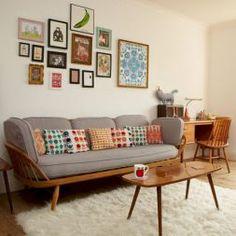 Mid Century Modern Living Room Decor Ideas 66