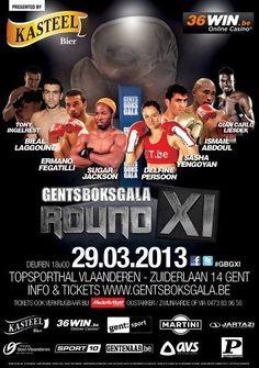Friday 29 March 2013 Topsporthal Vlaanderen, Gent, Oost-Vlaanderen, Belgium commission: Belgian Boxing Federation promoter: Claude Van Den Heede (VZW International Boxing Event) matchmaker: Claude ...