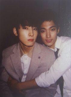 wonwoo & dk (seventeen)