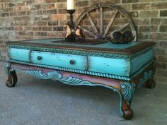 junk gypsy painted furniture *love this color combo*                                                                                                                                                                                 More #paintedrusticfurniture
