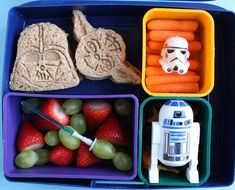 Star Wars bento box lunch