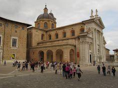 Dom von Urbino - Marke  Duomo di Urbino - Marche Louvre, Building, Travel, Italy, Viajes, Buildings, Destinations, Traveling, Trips