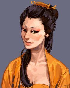 Character possibilities from the West, book 3 // comm: Moshi Sora by littleulvar.deviantart.com on @DeviantArt