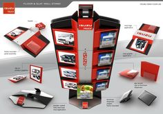 Point of Purchase Design | POP Design | Automotive POP | Point of Sale - Display stands by Alp Germaner at Coroflot.com