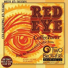 Two Brothers Red Eye Coffee Porter