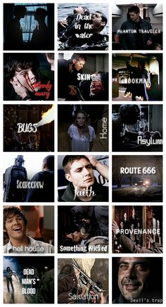 "Season 1 - Gif per episode gifset (I just kind of ignore ""Bugs"" and ""Route 666"" from this season haha)"