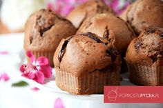 Czekoladowe muffinki Kids Meals, Nutrition, Sweets, Cooking, Breakfast, Food Heaven, Cupcake, Recipes, Baby
