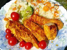 Kuracie prsia v karí marináde (fotorecept) - recept | Varecha.sk Tandoori Chicken, Food And Drink, Treats, Ethnic Recipes, Fit, Fall Of Man, Sweet Like Candy, Goodies, Shape