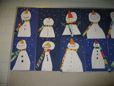 snowmen--love their scarves