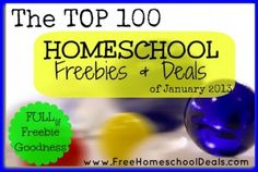 need to take a look: top 100 homeschool freebies