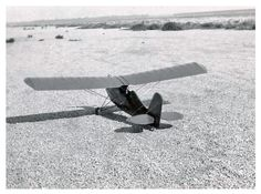 1930's Photograph - Early Gas Powered Model Plane