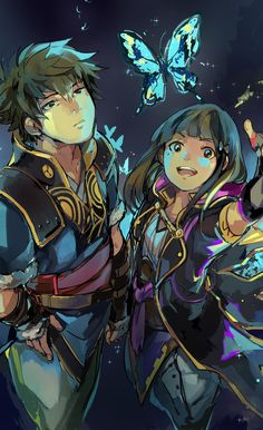 Lon'qu and Robin - So beautiful, thank you and well done to the artist!!