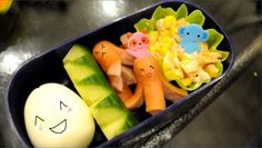 How to make a Japanese Bento Lunch Box... its so yummy looking
