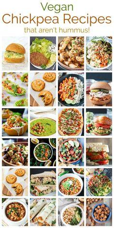 41 Vegan Chickpea Recipes That Aren\'t Hummus