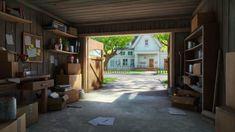 Resultado de imagen para garage concept art