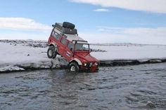 You can lead a Land Rover to water but you can't make it drink....