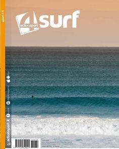 Cover 4Surf n°70. Surfer: Nicola Pau Photo: Andrea Bianchi