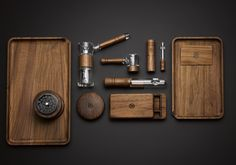 For discerning connoisseurs of the herb. Explore our interpretations of the bubbler, taster, glass pipe, grinder and other smoking accessories.