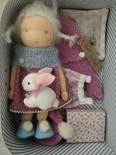 Suitcasedoll made by Else Besjes