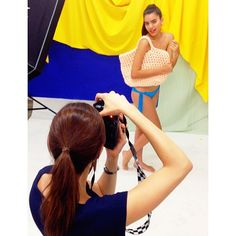 "Behind the scenes : photo shooting for the ""my name is rio"" collection"