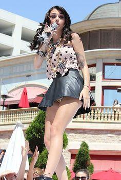 Cher Lloyd. #upskirt