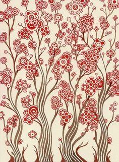wavy flowers (holespoles)